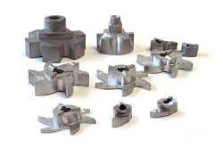 Hyperion cemented carbide grooving milling parts