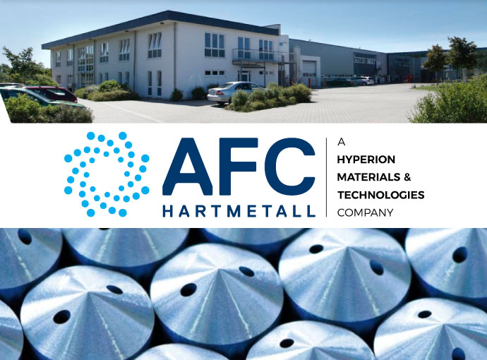 AFC Hartmetall was purchased by Hyperion Materials & Technologies